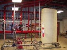 800 gallon AFFF atmospheric storage tank.