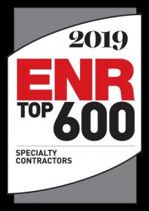 ENR 2019 Top 600 logo