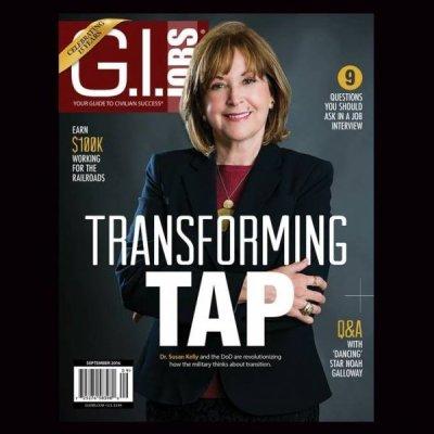 September issue of G.I. Jobs magazine