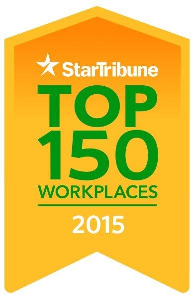 Star Tribune top 150 workplaces 2015