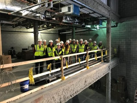 The ACE Mentor Program, a national partnership of design and construction companies and related professionals who work together to attract young people to the industry,  seeks to engage and excite high school students about ACE-related careers.