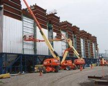 APi insulates four Clyde Bergemann Pulse Jet Fabric Filters at the Huntley Power Plant near Buffalo.