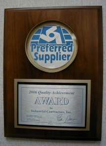 BEPC Preferred Supplier Award